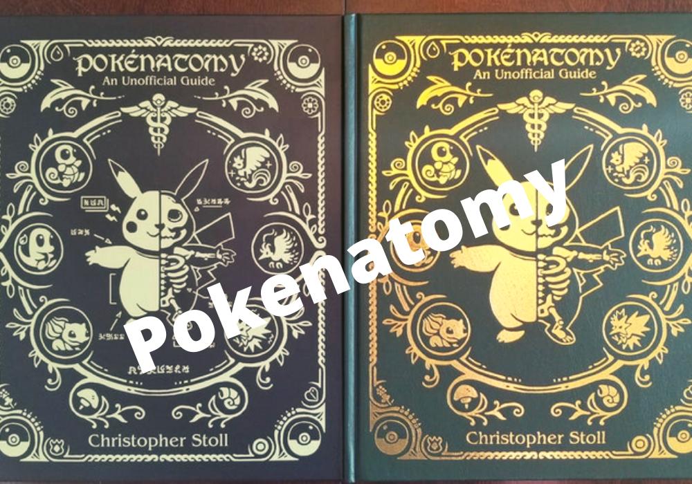 poeknatomy: pokemon anatomy book