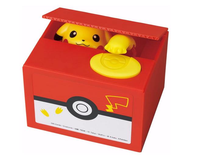 Pikachu coin box