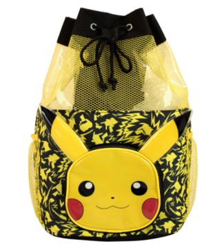 Pokemon Kids Pikachu Swim Bag