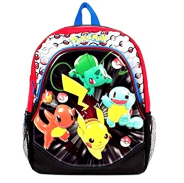 Pokemon Pouncin 16 EVA Molded Backpack