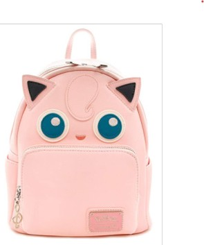 Loungefly Pokemon Jigglypuff Faux Leather Mini Backpack Standard