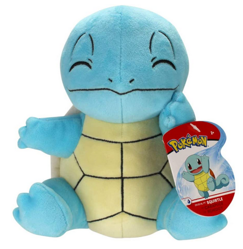 Pokemon 8 inch squirtle plush