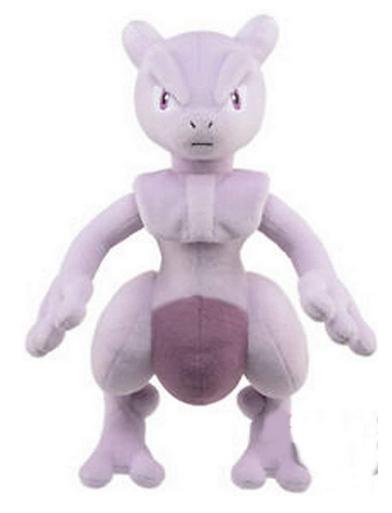 Pokemon mewtwo plush banpresto