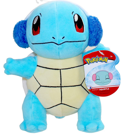 Pokemon Squirtle holiday plush toys