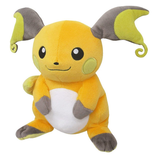 Raichu pokemon plush