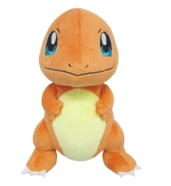 Sanei Pokemon All Star Charmander Stuffed Plush