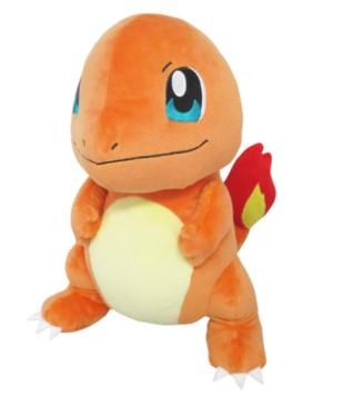 Sanei Pokemon All Star Series Charmander Stuffed Plush