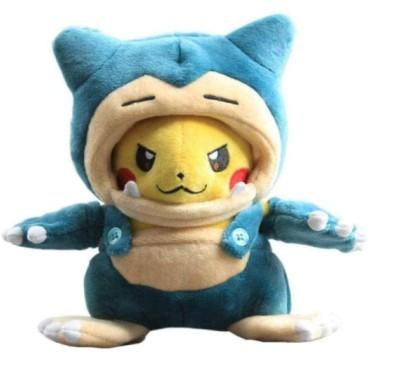 Anime Snorlax Mania Pikachu Plush