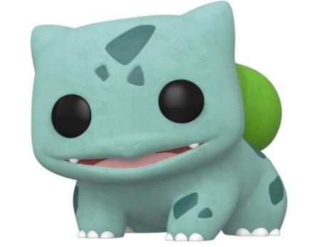 Funko Pop! Games: Pokemon - Flocked Bulbasaur