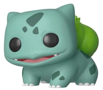 Funko Bulbasaur: Pokémon x POP! Games Vinyl Figure & 1 POP! Compatible PET Plastic Graphical Protector Bundle