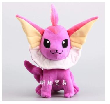 LHAHGLY Anime Game Pokemon Series Vaporeon Stuffed Dolls Plush Toys 35Cm, for Children Pikachu Christmas Children Gifts Plush Toy