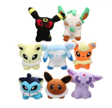 Anime Pokemon Plush Toy Doll 13Cm,Cute Flareon Umbreon Espeon