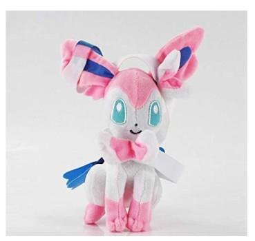 Pokemoned Eevee Pikachu Plush Dolls Glaceon Leafeon