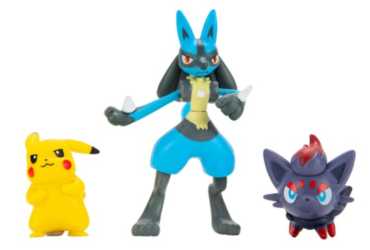 Pokemon Battle Figure Set