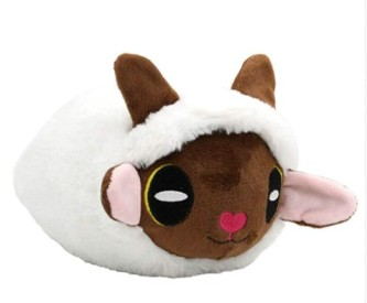 LHAHGLY Anime Pokemon Sword and Shield Wooloo Plush Doll Toy
